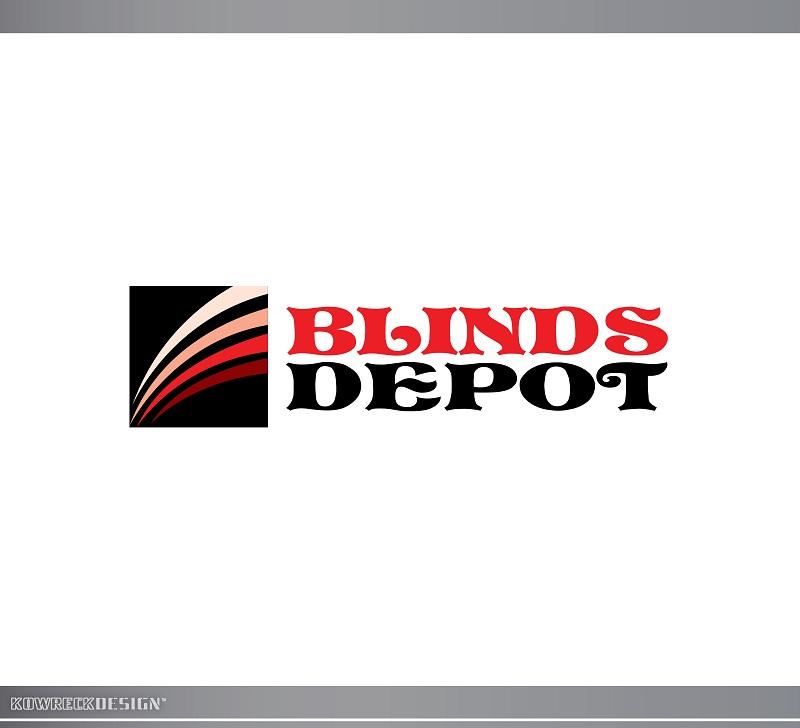 Logo Design by kowreck - Entry No. 56 in the Logo Design Contest Logo Design Needed for Exciting New Company Blinds Depot.