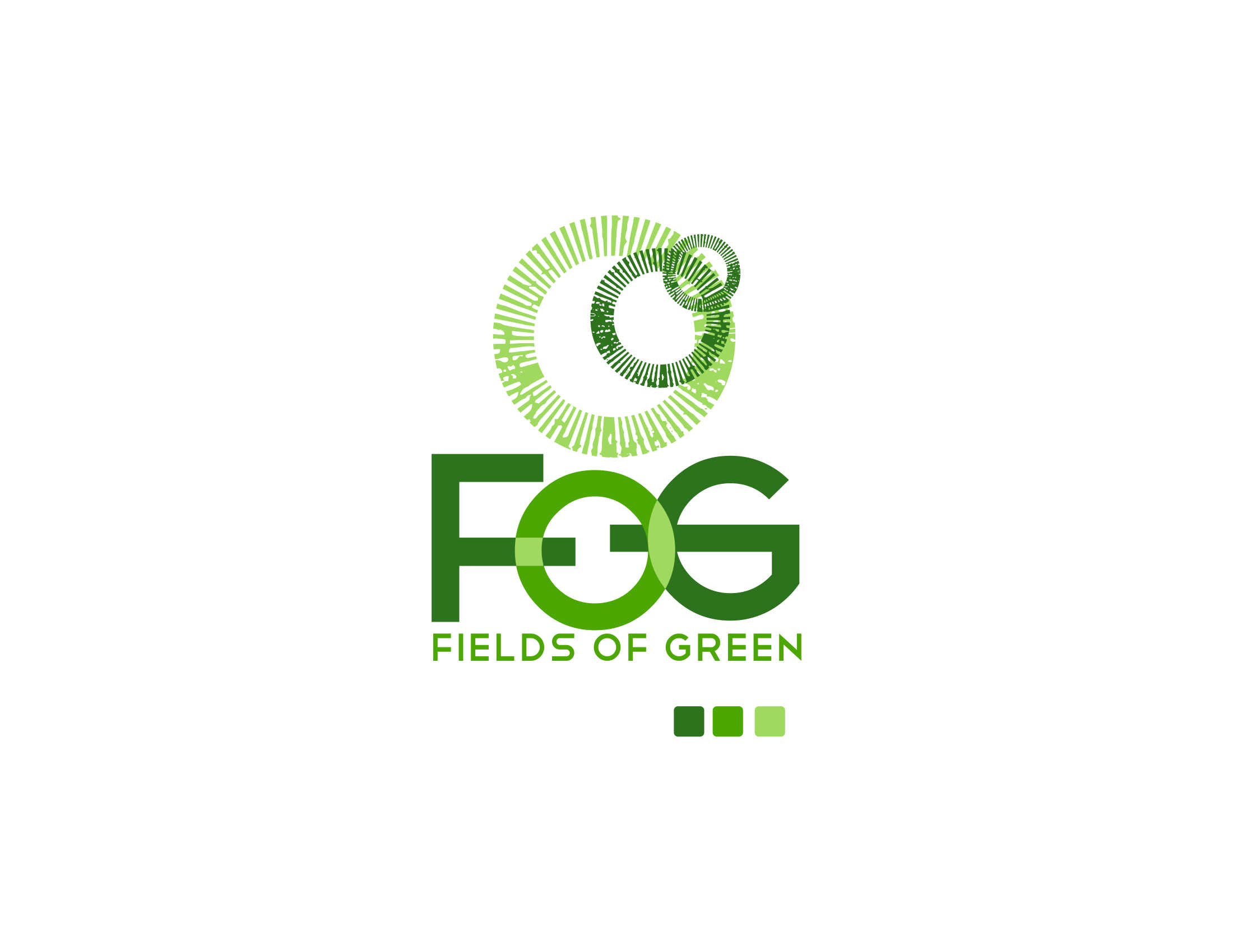 Logo Design by Private User - Entry No. 85 in the Logo Design Contest Psych-Rock Band FIELDS OF GREEN Logo Design.
