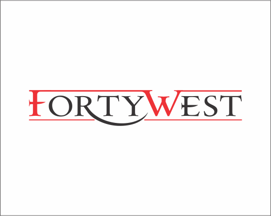 Logo Design by Armada Jamaluddin - Entry No. 93 in the Logo Design Contest Unique Logo Design Wanted for Forty West.