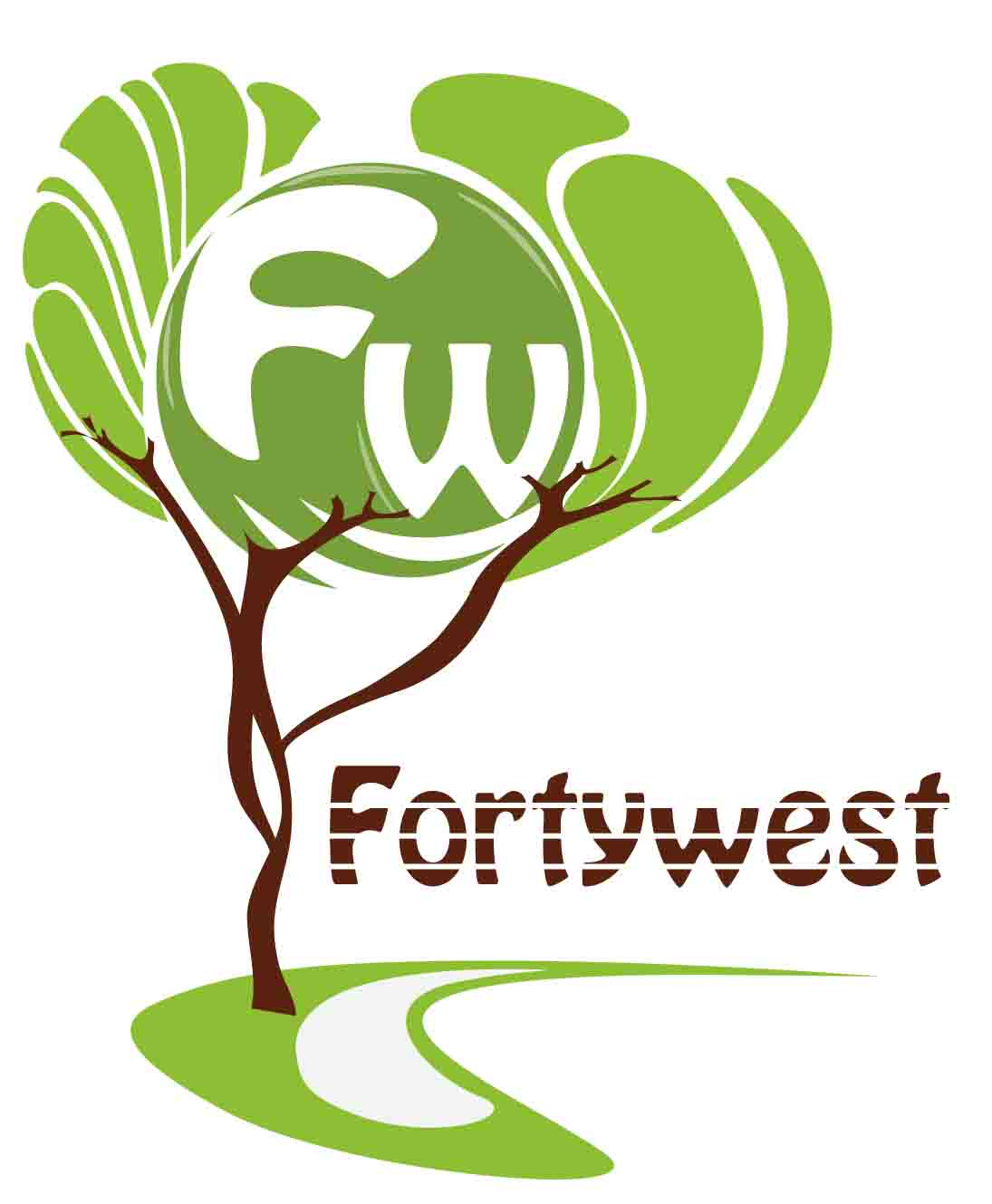 Logo Design by Aj Ong - Entry No. 95 in the Logo Design Contest Unique Logo Design Wanted for Forty West.