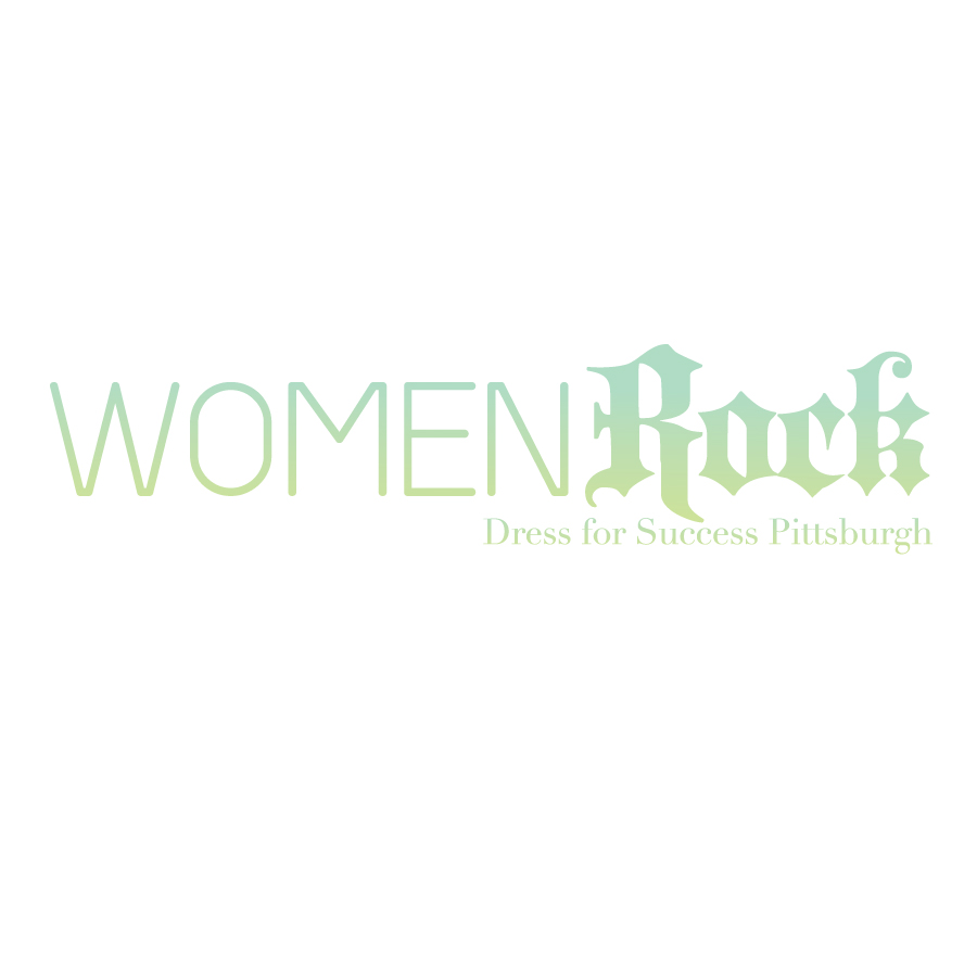 Logo Design by stu-simpson - Entry No. 82 in the Logo Design Contest Women ROCK! - Dress for Success Pittsburgh.