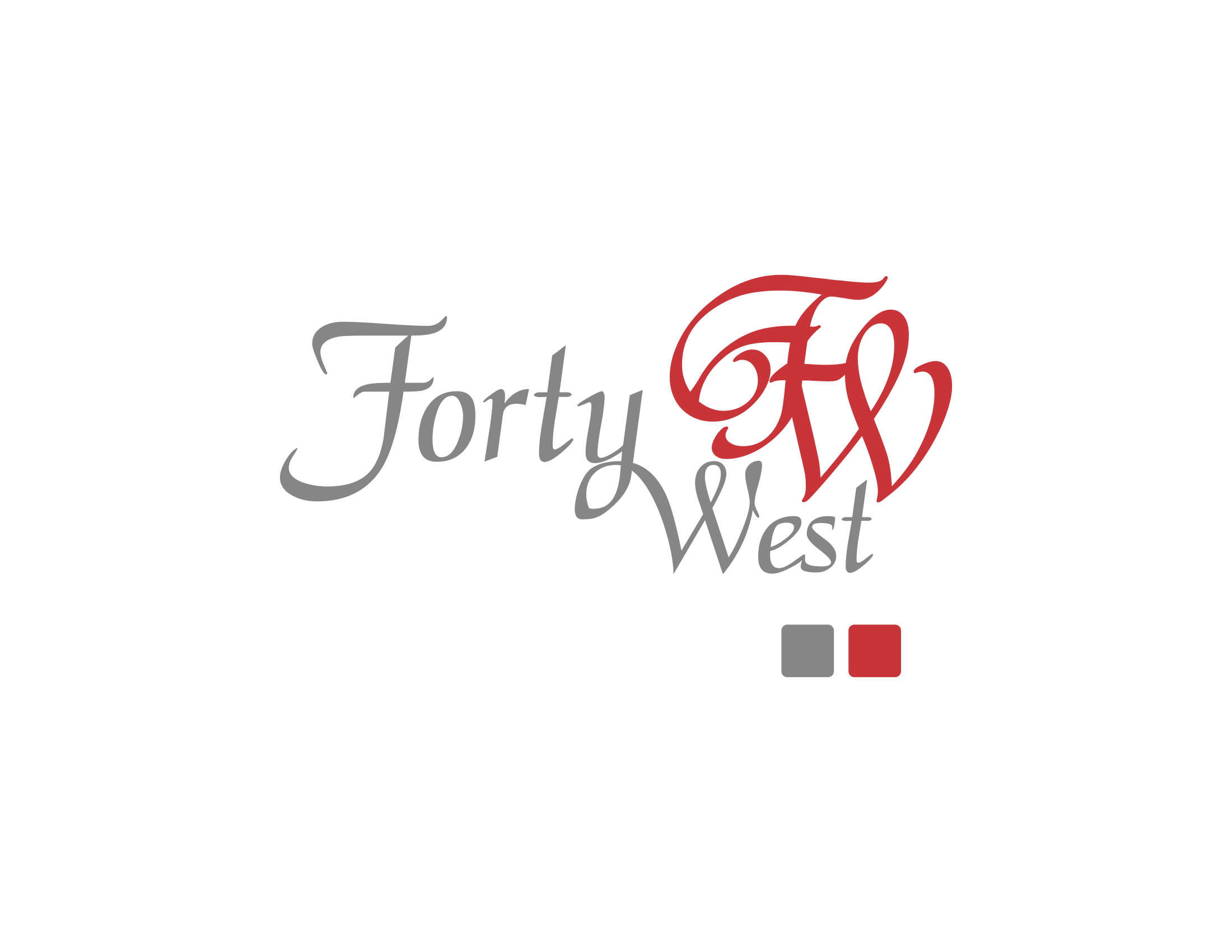 Logo Design by Private User - Entry No. 96 in the Logo Design Contest Unique Logo Design Wanted for Forty West.