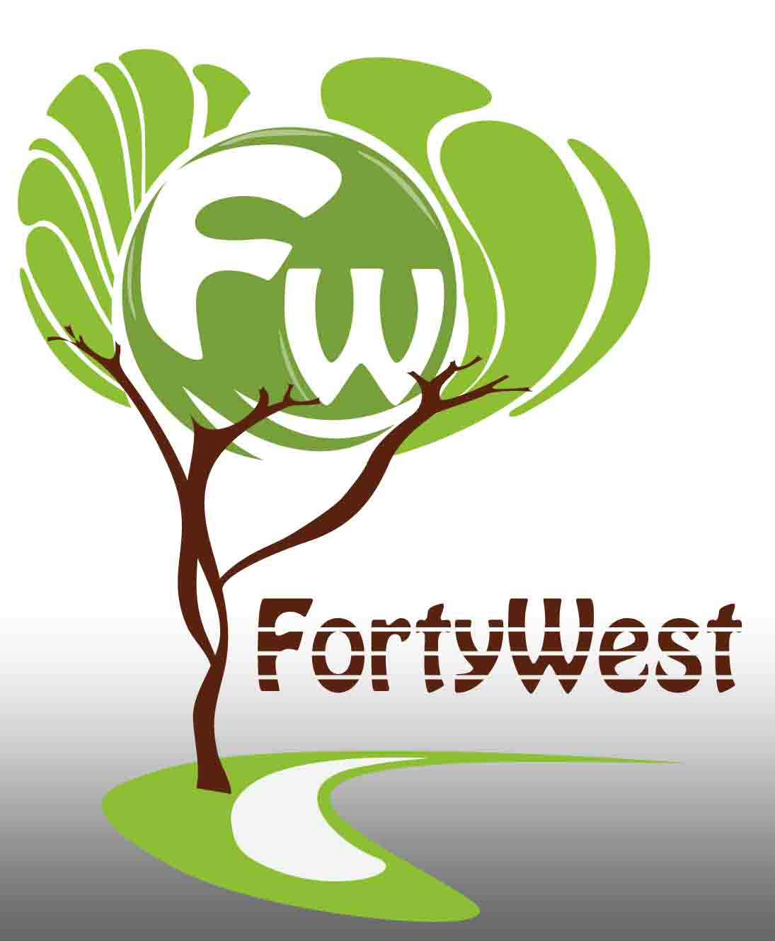 Logo Design by Aj Ong - Entry No. 97 in the Logo Design Contest Unique Logo Design Wanted for Forty West.