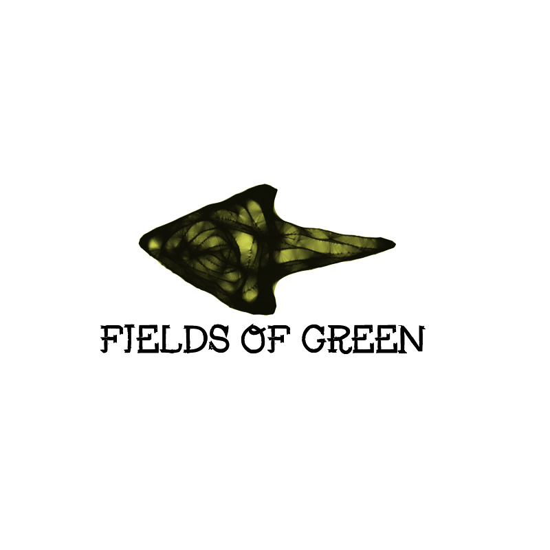 Logo Design by Private User - Entry No. 89 in the Logo Design Contest Psych-Rock Band FIELDS OF GREEN Logo Design.