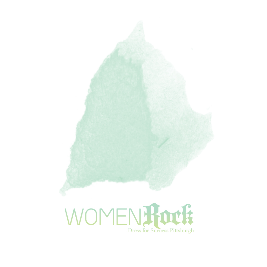 Logo Design by stu-simpson - Entry No. 84 in the Logo Design Contest Women ROCK! - Dress for Success Pittsburgh.