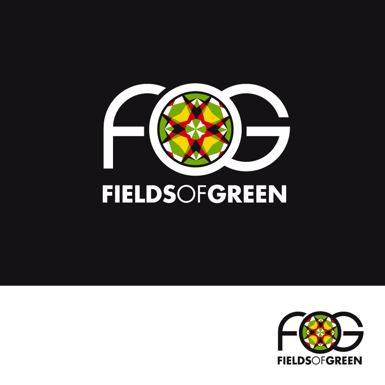 Logo Design by luna - Entry No. 90 in the Logo Design Contest Psych-Rock Band FIELDS OF GREEN Logo Design.
