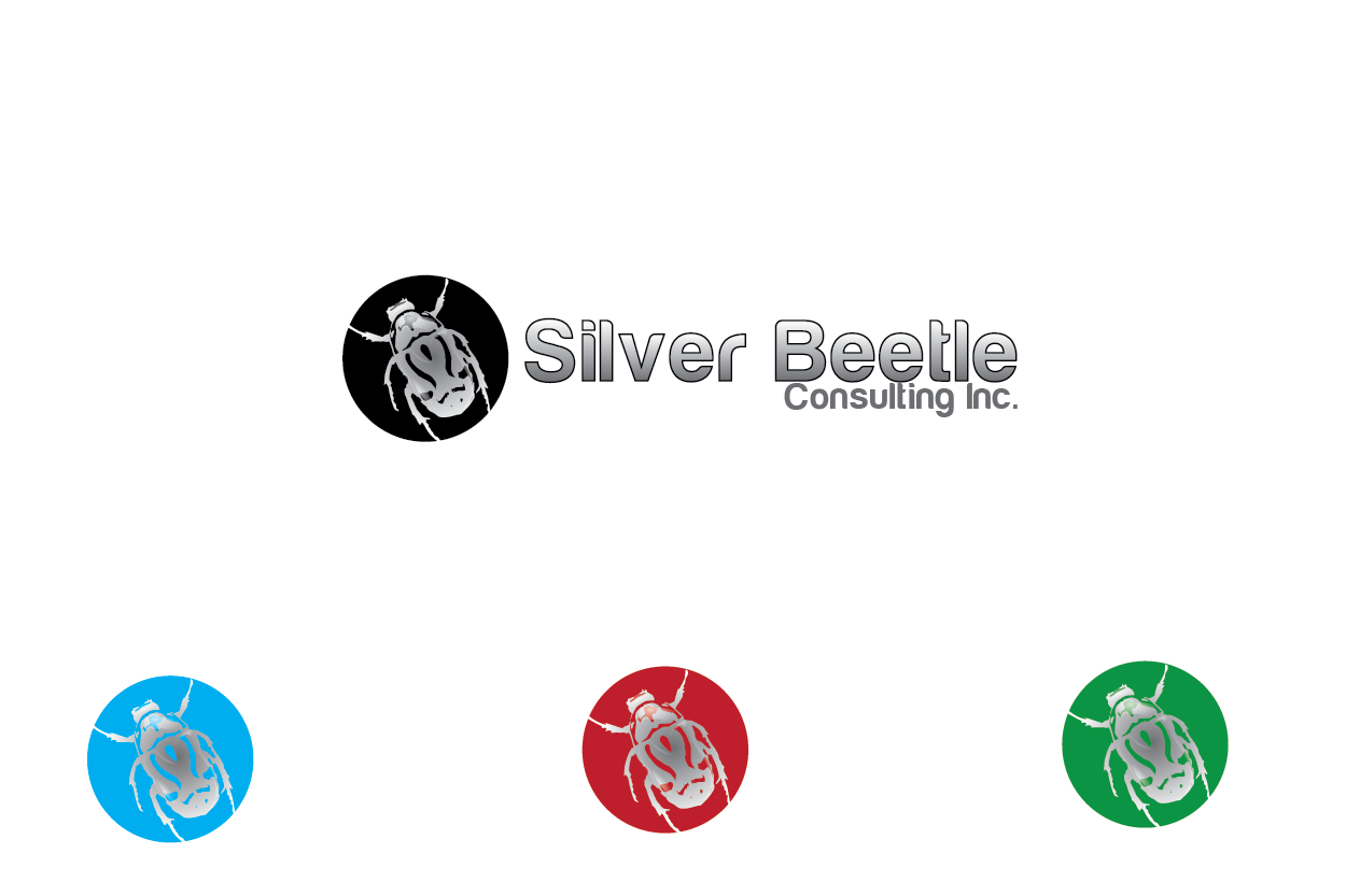 Logo Design by Private User - Entry No. 32 in the Logo Design Contest Silver Beetle Consulting Inc. Logo Design.