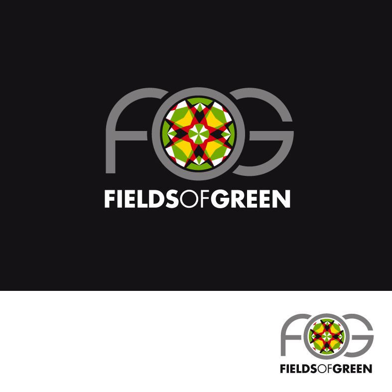 Logo Design by luna - Entry No. 91 in the Logo Design Contest Psych-Rock Band FIELDS OF GREEN Logo Design.
