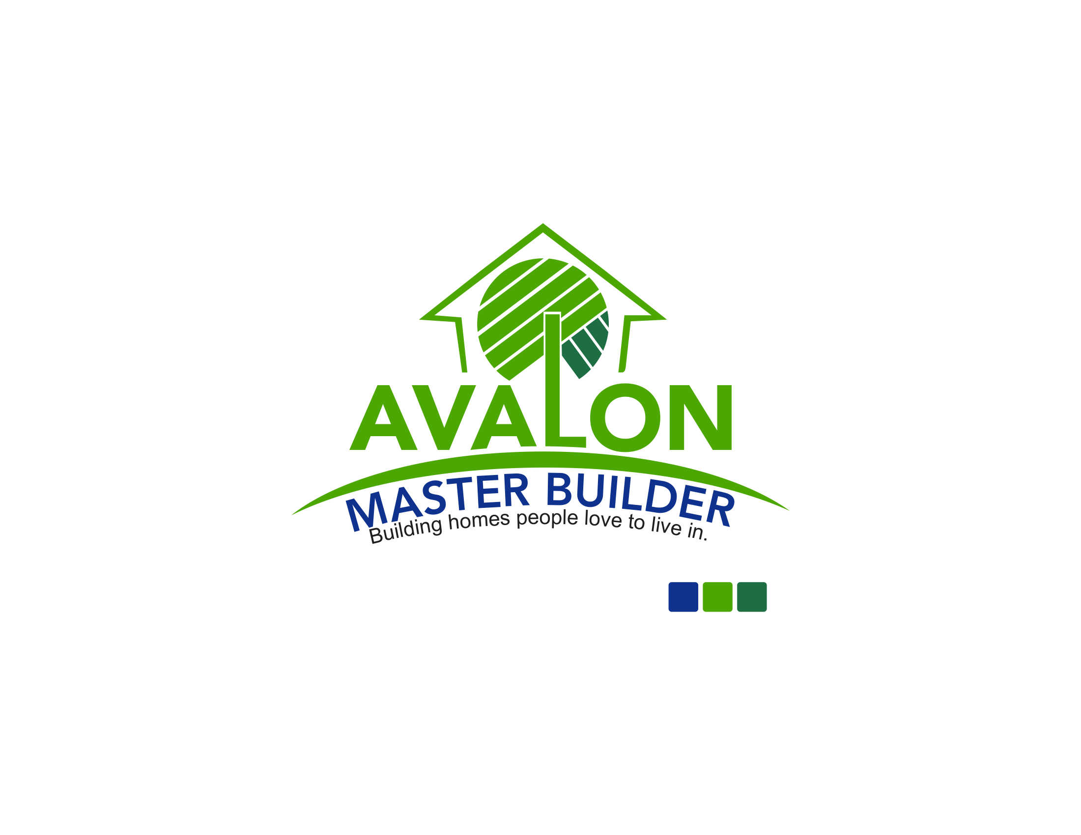 Logo Design by Private User - Entry No. 13 in the Logo Design Contest Avalon Master Builder Logo Design.