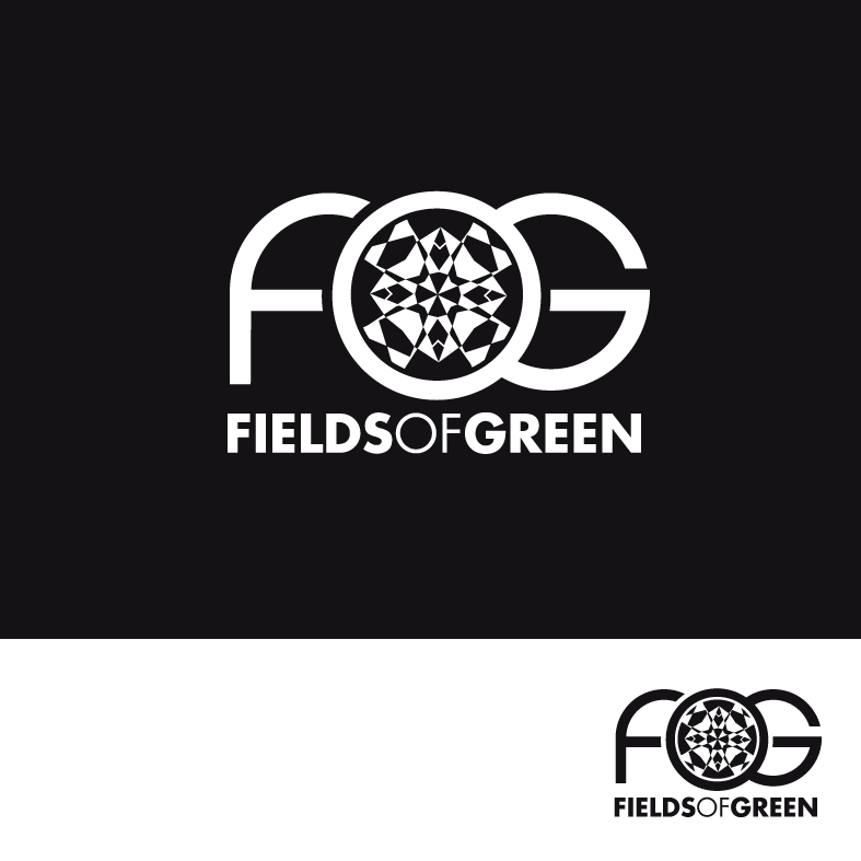 Logo Design by luna - Entry No. 93 in the Logo Design Contest Psych-Rock Band FIELDS OF GREEN Logo Design.