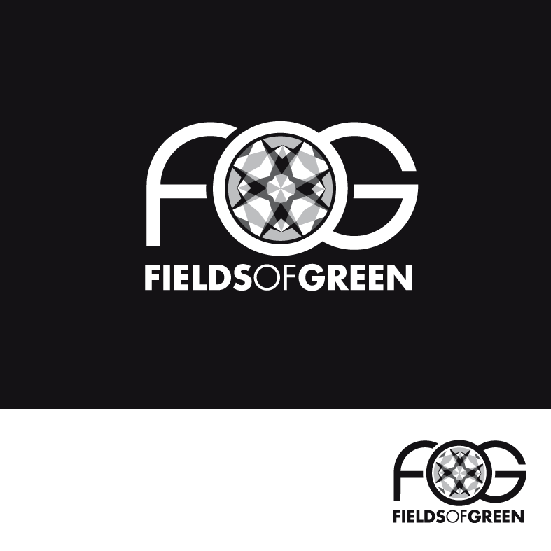 Logo Design by luna - Entry No. 94 in the Logo Design Contest Psych-Rock Band FIELDS OF GREEN Logo Design.
