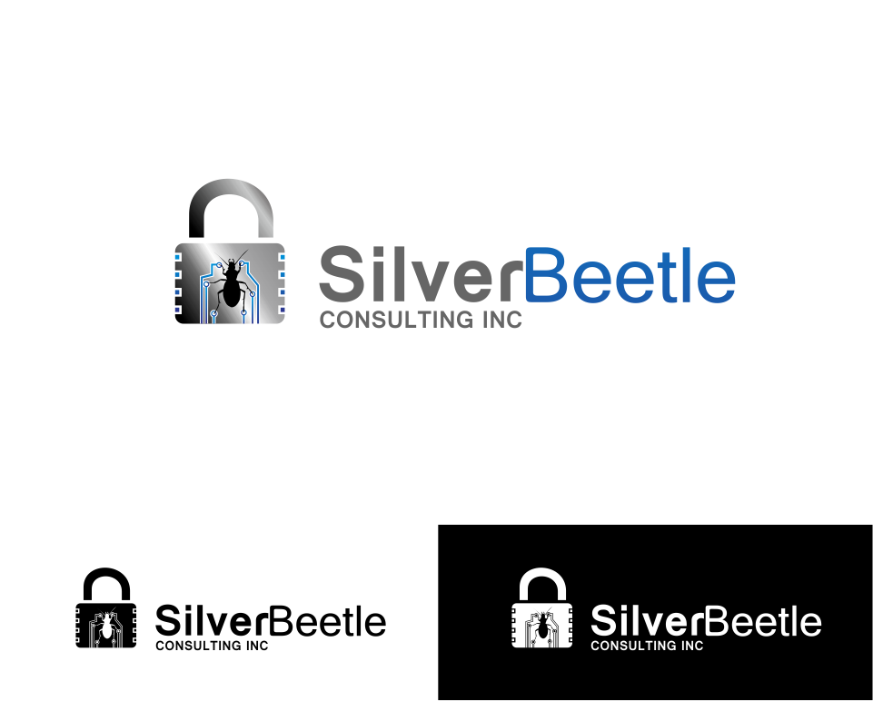 Logo Design by Mitchnick Sunardi - Entry No. 34 in the Logo Design Contest Silver Beetle Consulting Inc. Logo Design.
