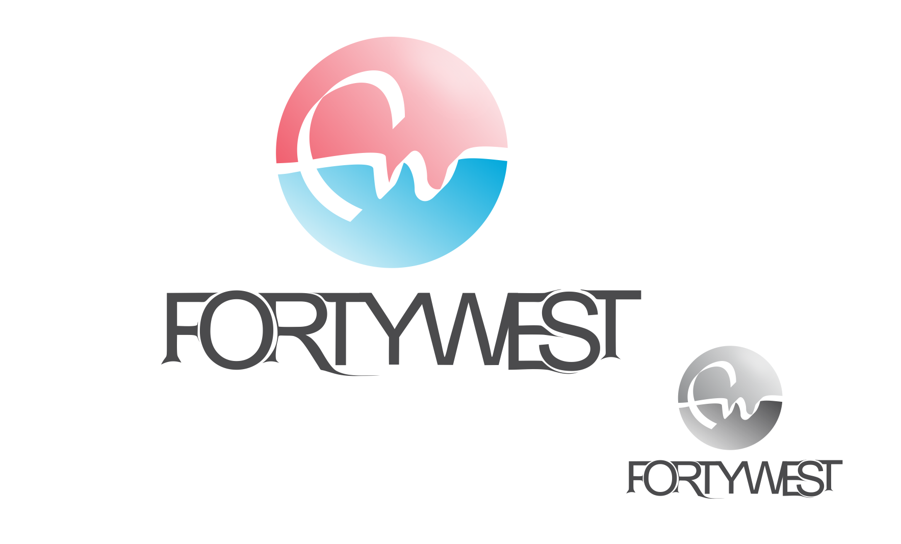 Logo Design by Private User - Entry No. 101 in the Logo Design Contest Unique Logo Design Wanted for Forty West.