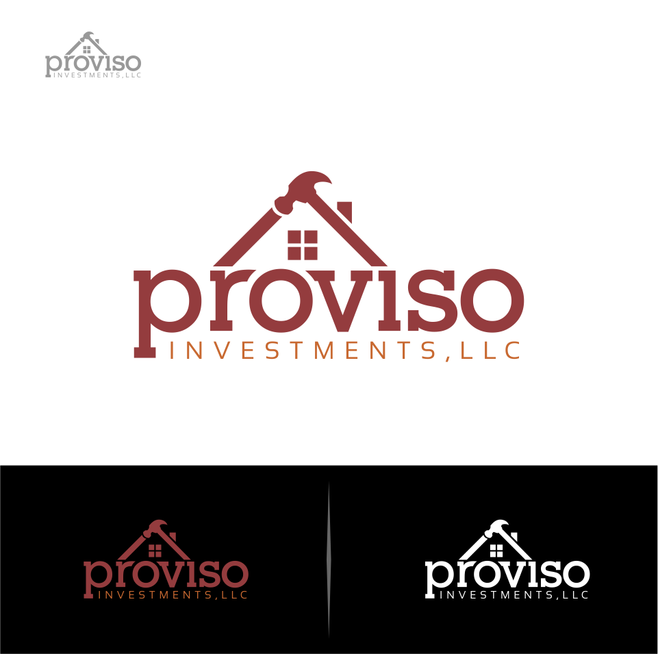 Logo Design by Mitchnick Sunardi - Entry No. 4 in the Logo Design Contest New Logo Design for PROVISO INVESTMENTS,LLC.