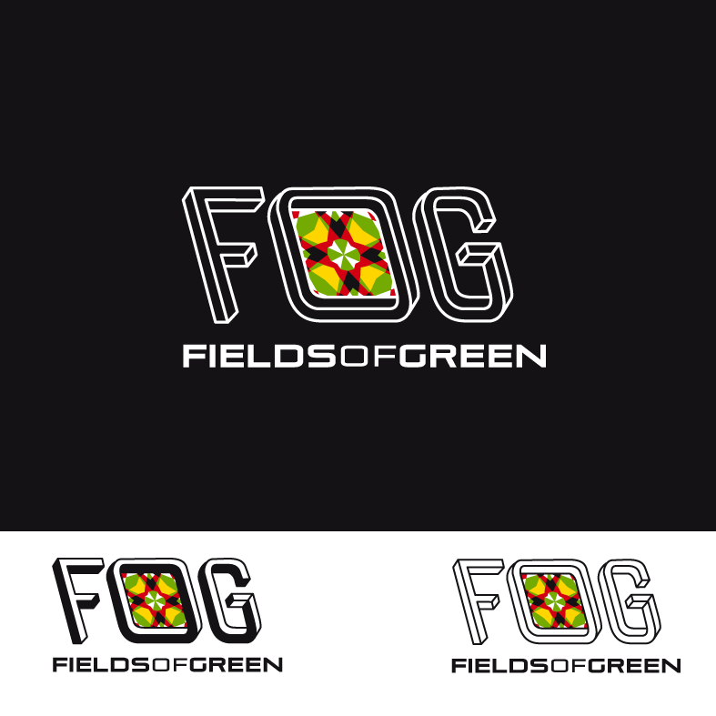 Logo Design by luna - Entry No. 96 in the Logo Design Contest Psych-Rock Band FIELDS OF GREEN Logo Design.