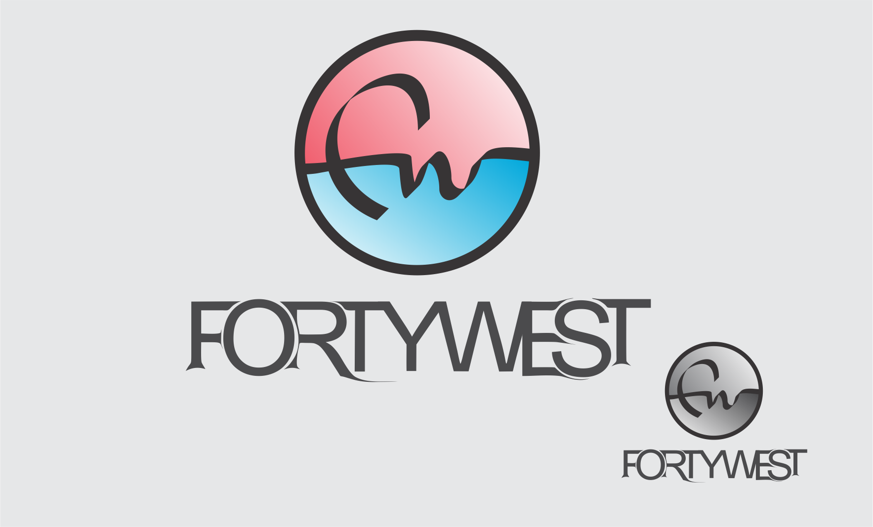Logo Design by Private User - Entry No. 102 in the Logo Design Contest Unique Logo Design Wanted for Forty West.