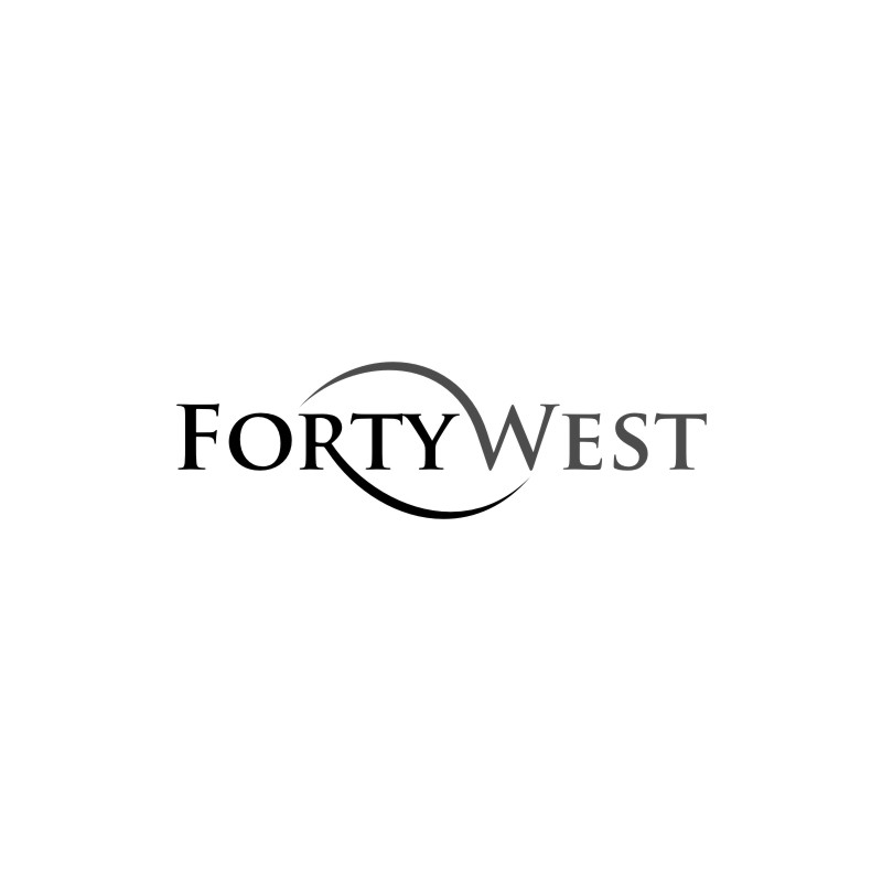 Logo Design by untung - Entry No. 104 in the Logo Design Contest Unique Logo Design Wanted for Forty West.
