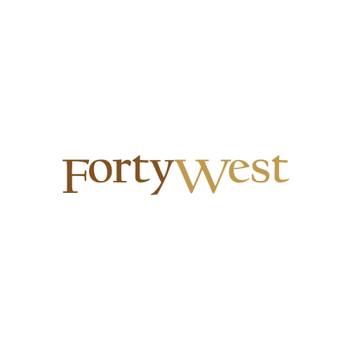 Logo Design by Rudy - Entry No. 108 in the Logo Design Contest Unique Logo Design Wanted for Forty West.