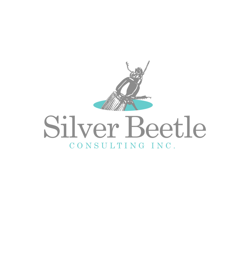 Logo Design by Peter Grubb - Entry No. 38 in the Logo Design Contest Silver Beetle Consulting Inc. Logo Design.