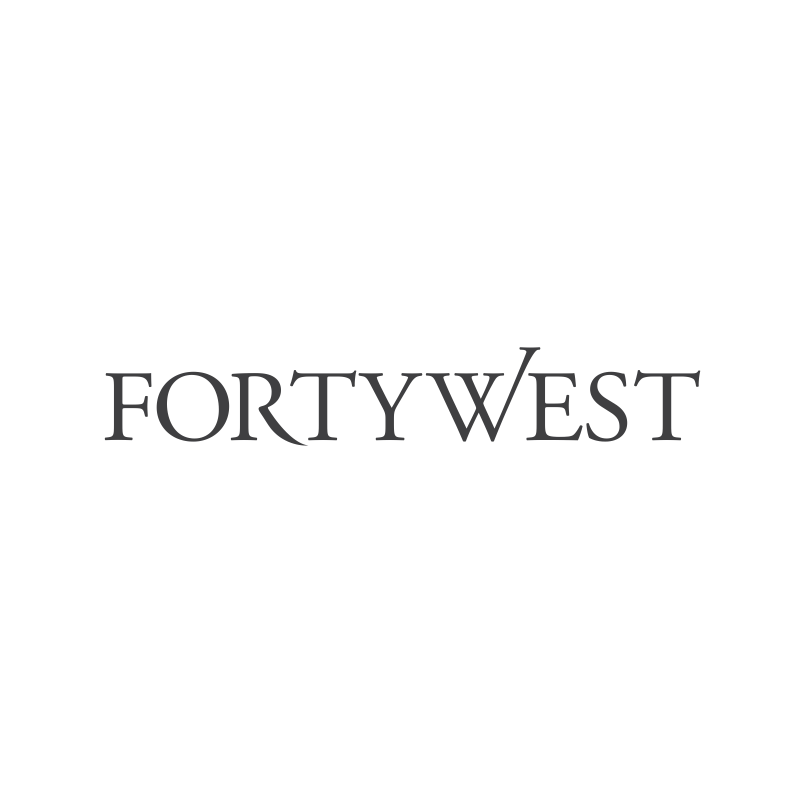 Logo Design by moisesf - Entry No. 112 in the Logo Design Contest Unique Logo Design Wanted for Forty West.