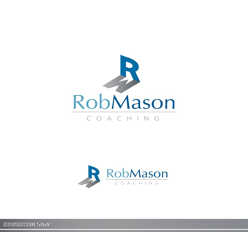 Logo Design by kowreck - Entry No. 102 in the Logo Design Contest New Logo Design Needed for Exciting Company Rob Mason Coaching.
