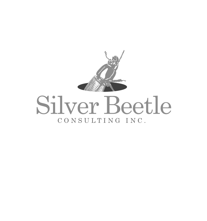 Logo Design by Peter Grubb - Entry No. 39 in the Logo Design Contest Silver Beetle Consulting Inc. Logo Design.