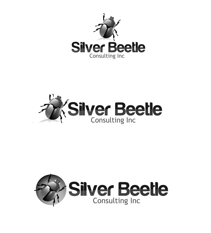 Logo Design by Private User - Entry No. 40 in the Logo Design Contest Silver Beetle Consulting Inc. Logo Design.