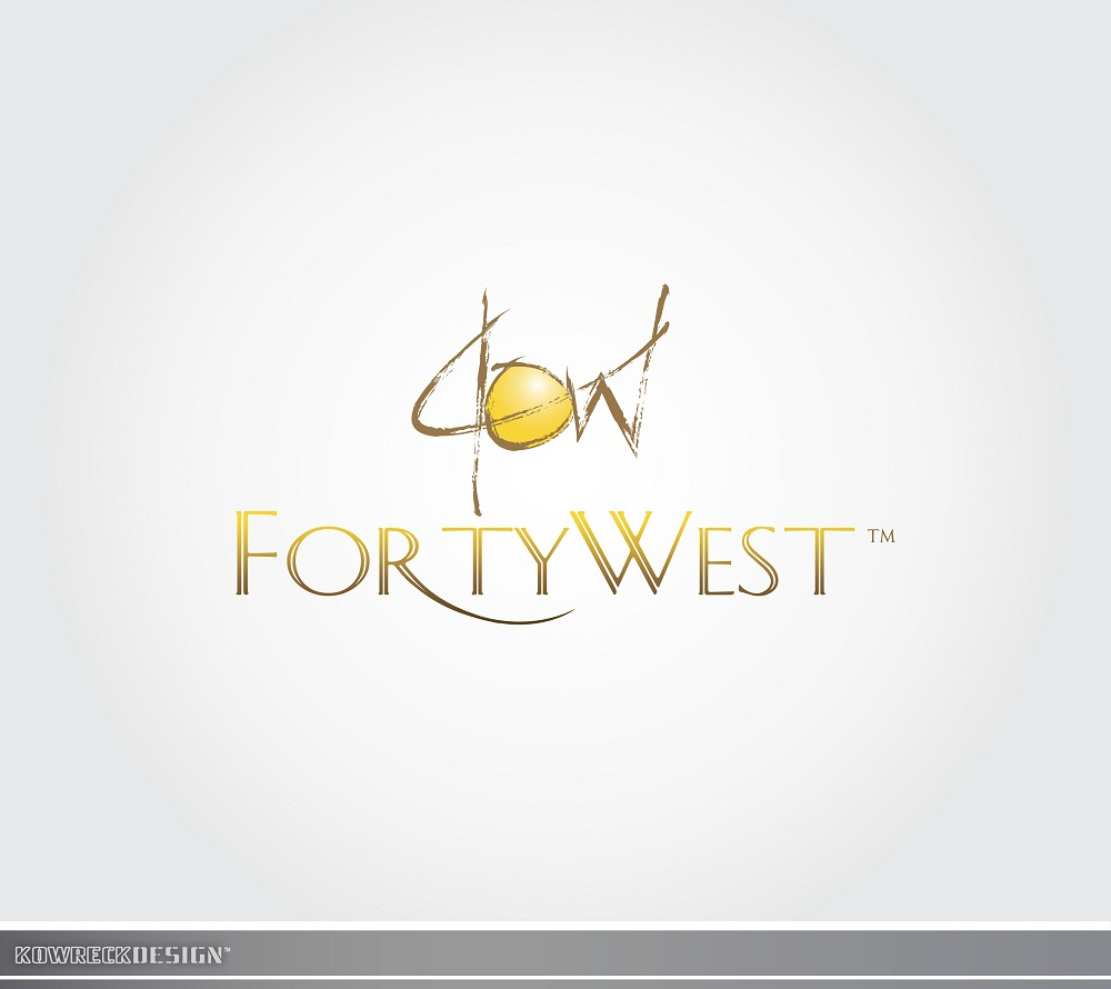 Logo Design by kowreck - Entry No. 113 in the Logo Design Contest Unique Logo Design Wanted for Forty West.