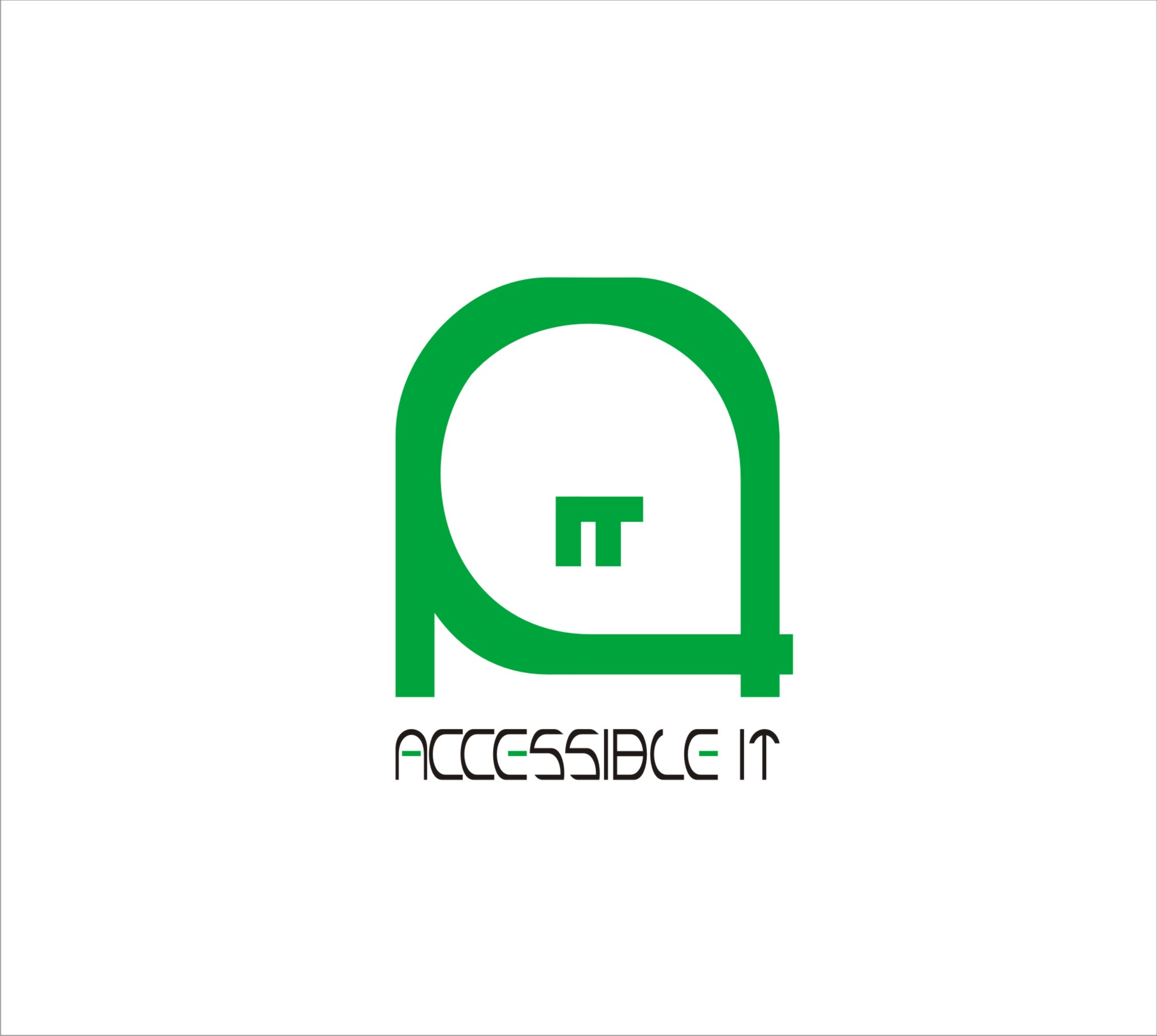 Logo Design by Aedz Danish - Entry No. 415 in the Logo Design Contest Logo Design Needed for Exciting New Company Accessible IT.
