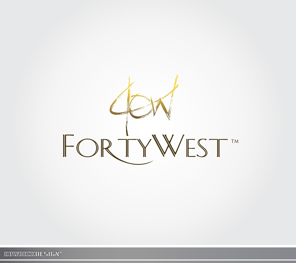 Logo Design by kowreck - Entry No. 114 in the Logo Design Contest Unique Logo Design Wanted for Forty West.