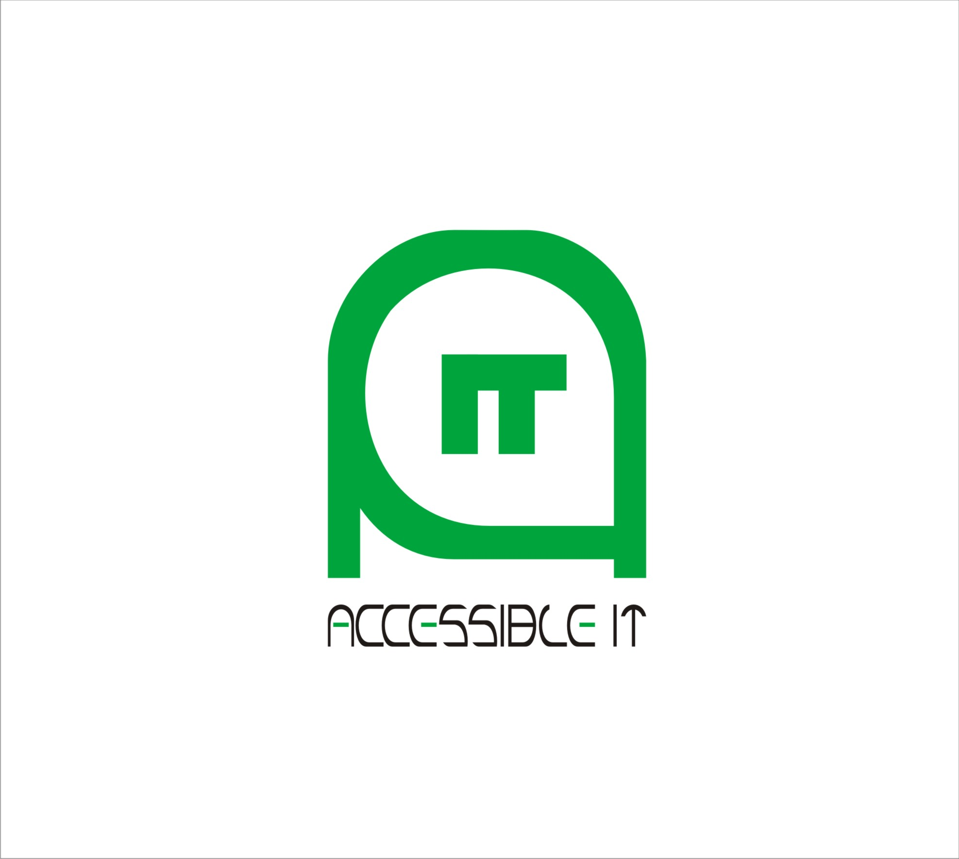 Logo Design by Aedz Danish - Entry No. 416 in the Logo Design Contest Logo Design Needed for Exciting New Company Accessible IT.