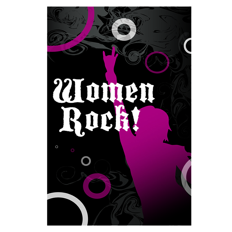 Logo Design by designlot - Entry No. 85 in the Logo Design Contest Women ROCK! - Dress for Success Pittsburgh.