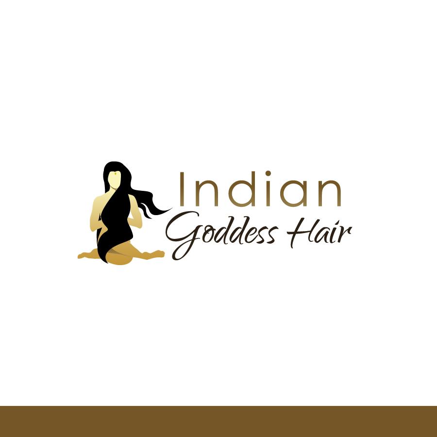 Logo Design by Edward Goodwin - Entry No. 25 in the Logo Design Contest Indian Goddess Hair LOGO DESIGN.