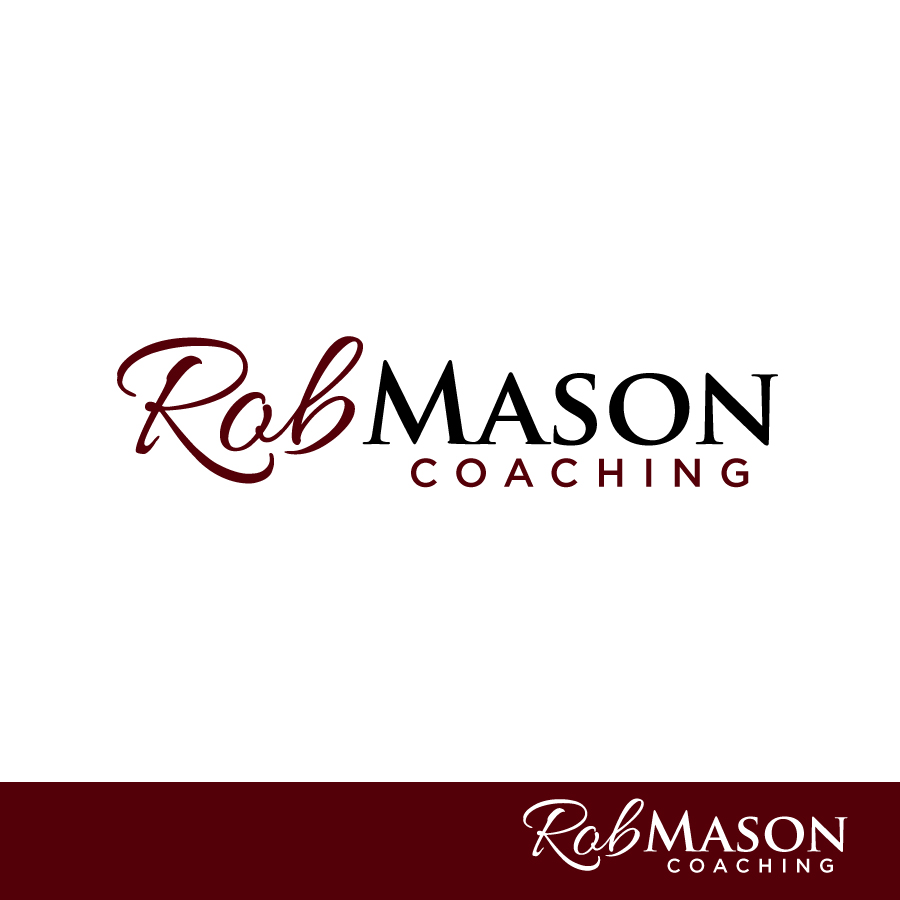 Logo Design by Edward Goodwin - Entry No. 103 in the Logo Design Contest New Logo Design Needed for Exciting Company Rob Mason Coaching.