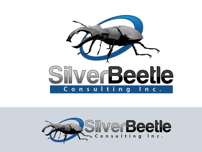 Logo Design by Aga Ochoco - Entry No. 42 in the Logo Design Contest Silver Beetle Consulting Inc. Logo Design.