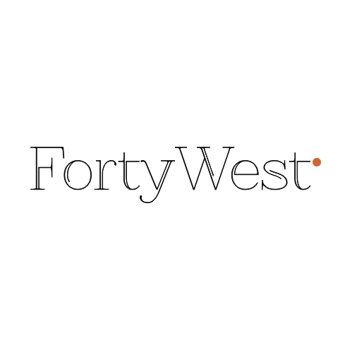 Logo Design by Rudy - Entry No. 116 in the Logo Design Contest Unique Logo Design Wanted for Forty West.