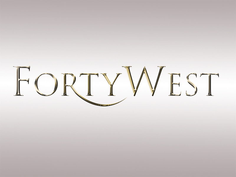 Logo Design by Mythos Designs - Entry No. 118 in the Logo Design Contest Unique Logo Design Wanted for Forty West.