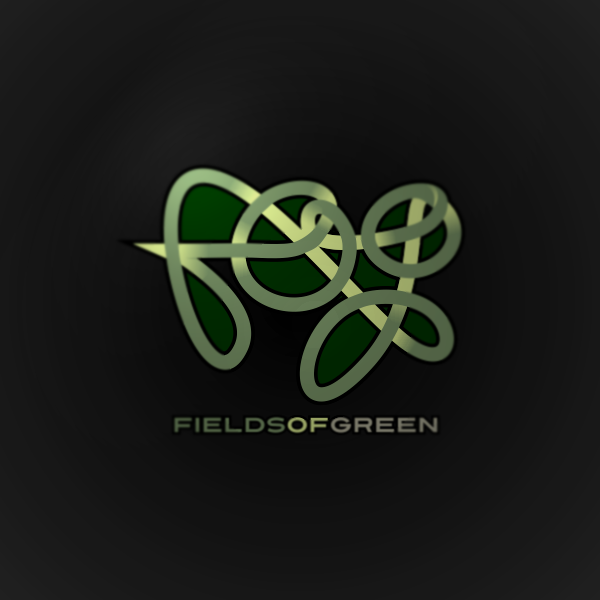 Logo Design by Private User - Entry No. 110 in the Logo Design Contest Psych-Rock Band FIELDS OF GREEN Logo Design.