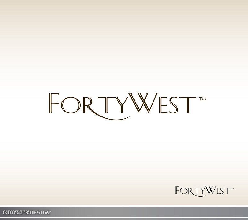 Logo Design by kowreck - Entry No. 128 in the Logo Design Contest Unique Logo Design Wanted for Forty West.