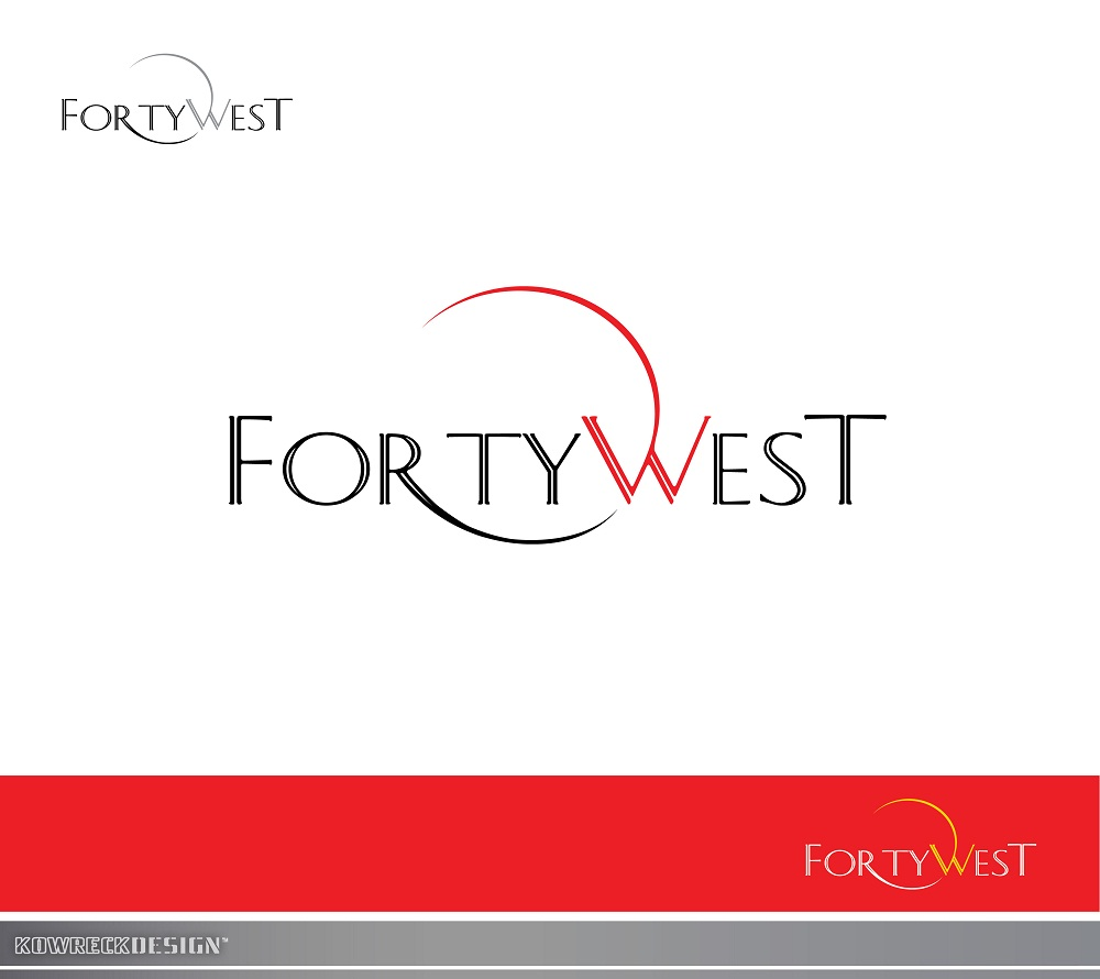 Logo Design by kowreck - Entry No. 133 in the Logo Design Contest Unique Logo Design Wanted for Forty West.