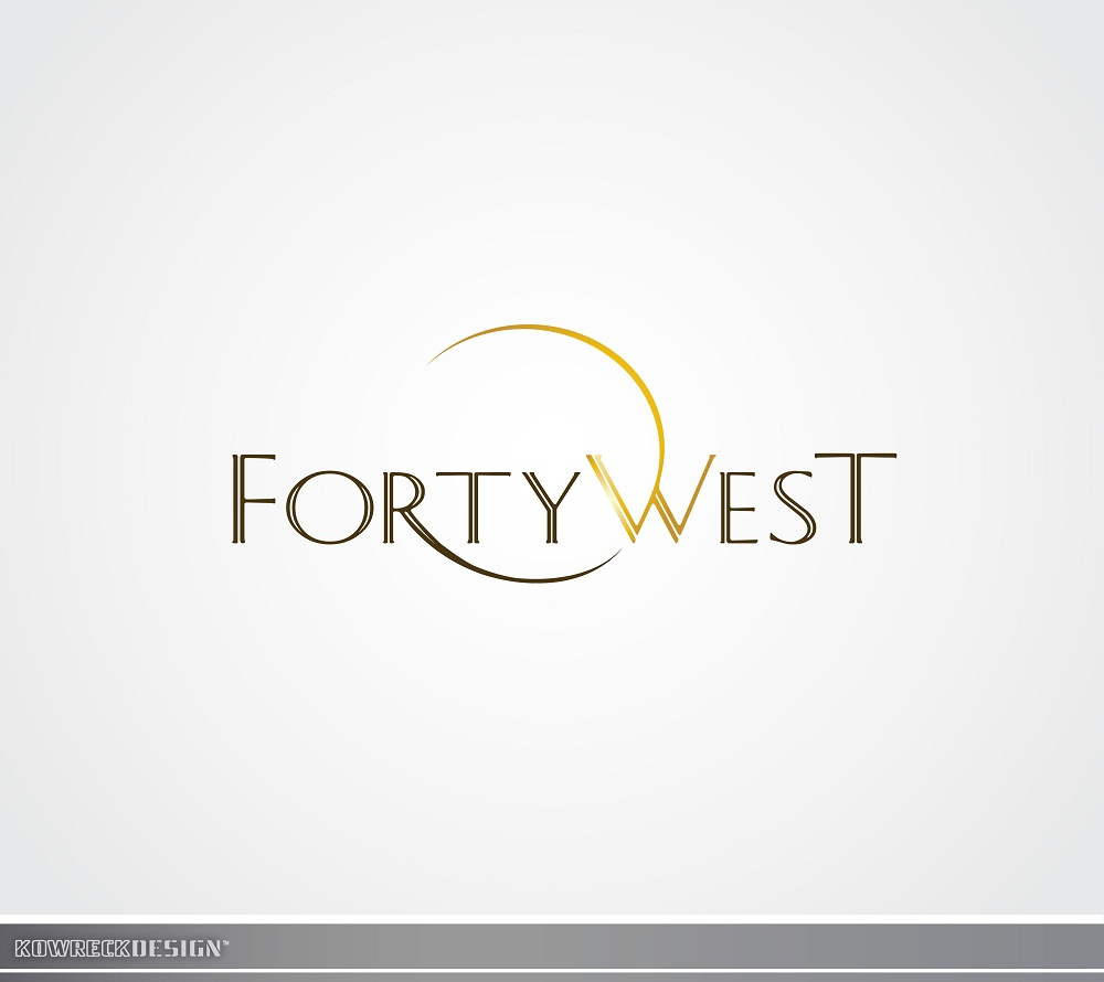 Logo Design by kowreck - Entry No. 137 in the Logo Design Contest Unique Logo Design Wanted for Forty West.
