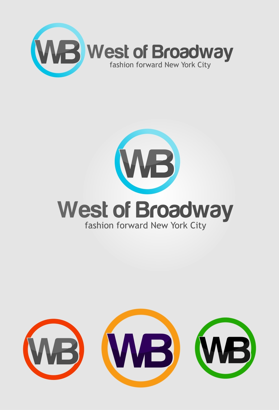 Logo Design by Private User - Entry No. 1 in the Logo Design Contest Unique Logo Design Wanted for West of Broadway.