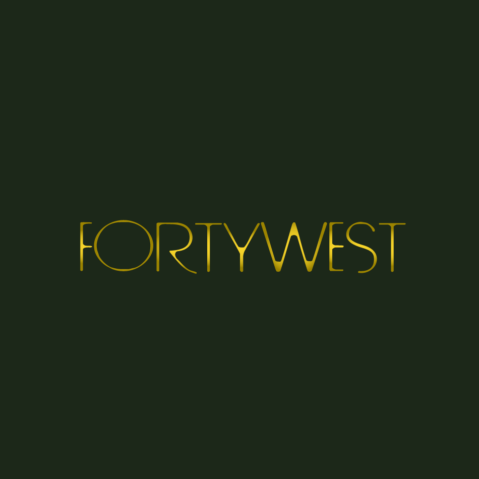 Logo Design by moonflower - Entry No. 140 in the Logo Design Contest Unique Logo Design Wanted for Forty West.