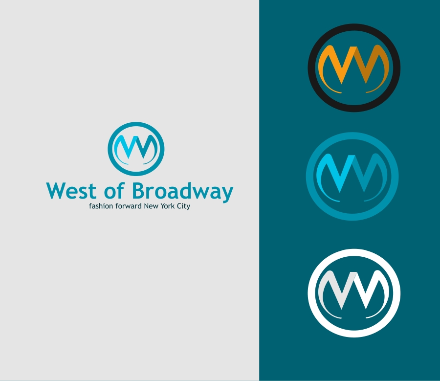 Logo Design by Private User - Entry No. 2 in the Logo Design Contest Unique Logo Design Wanted for West of Broadway.
