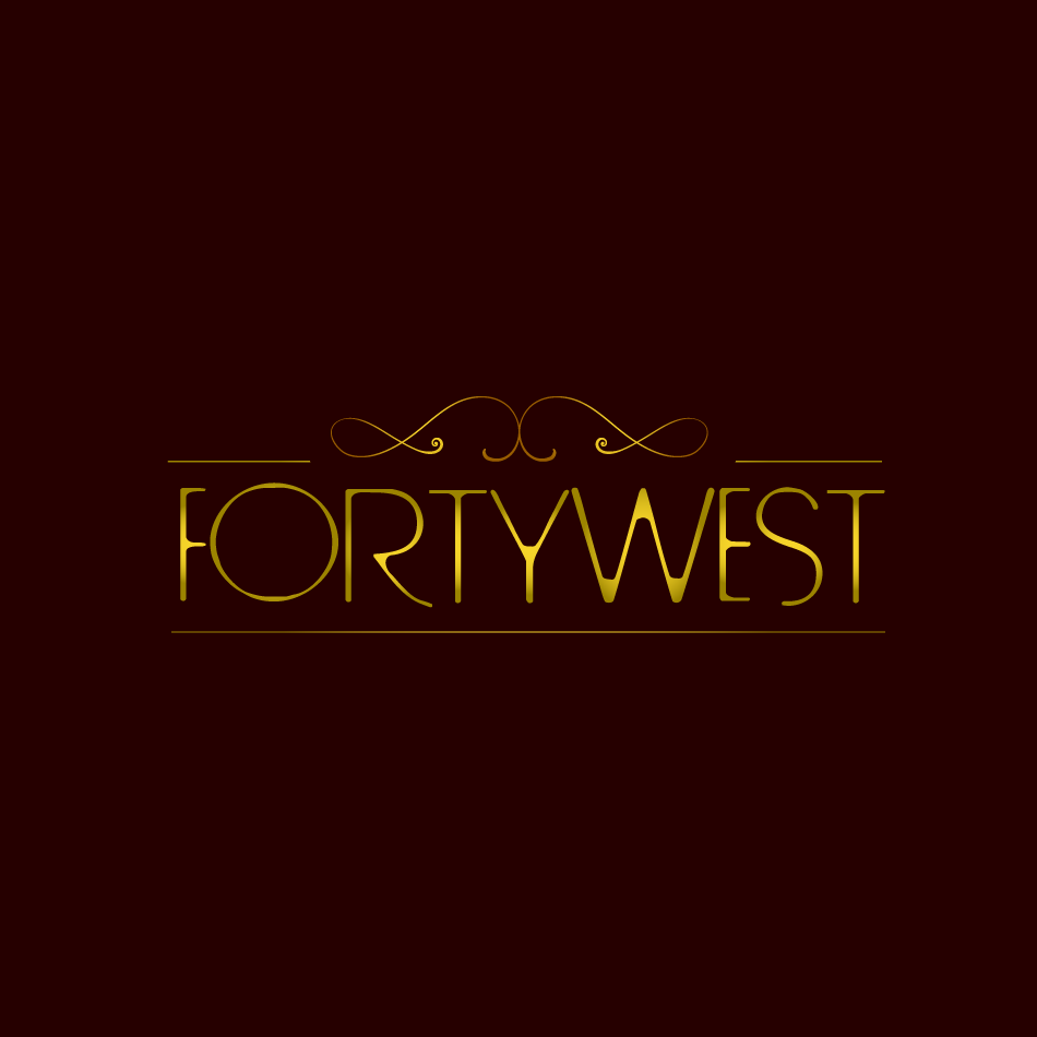 Logo Design by moonflower - Entry No. 141 in the Logo Design Contest Unique Logo Design Wanted for Forty West.