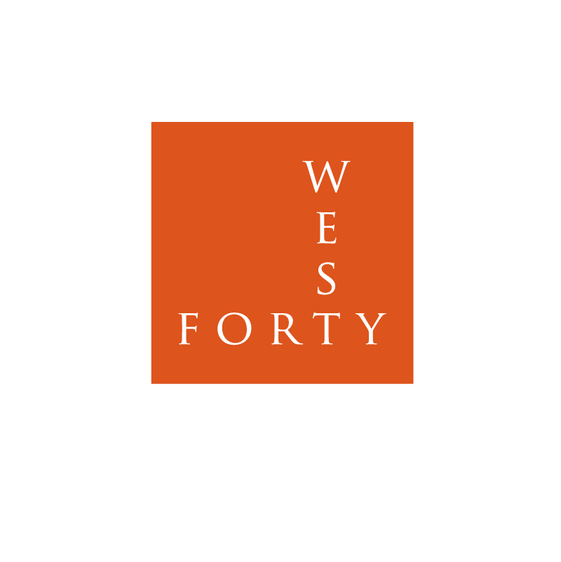 Logo Design by Peter Grubb - Entry No. 144 in the Logo Design Contest Unique Logo Design Wanted for Forty West.