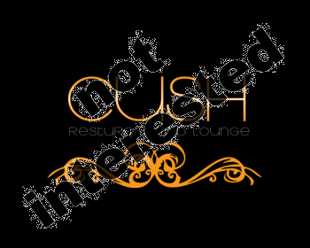 Logo Design by abbiedesigns - Entry No. 40 in the Logo Design Contest Cush Restaurant & Lounge Ltd..