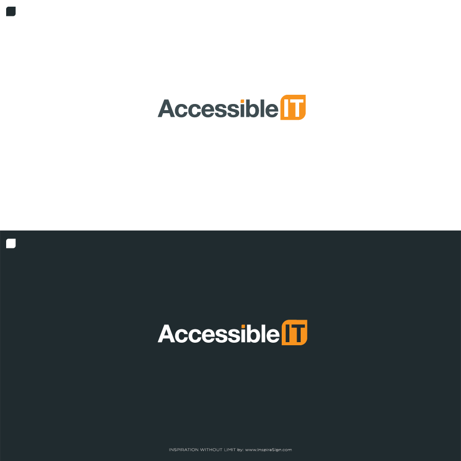Logo Design by InspiraSign - Entry No. 430 in the Logo Design Contest Logo Design Needed for Exciting New Company Accessible IT.