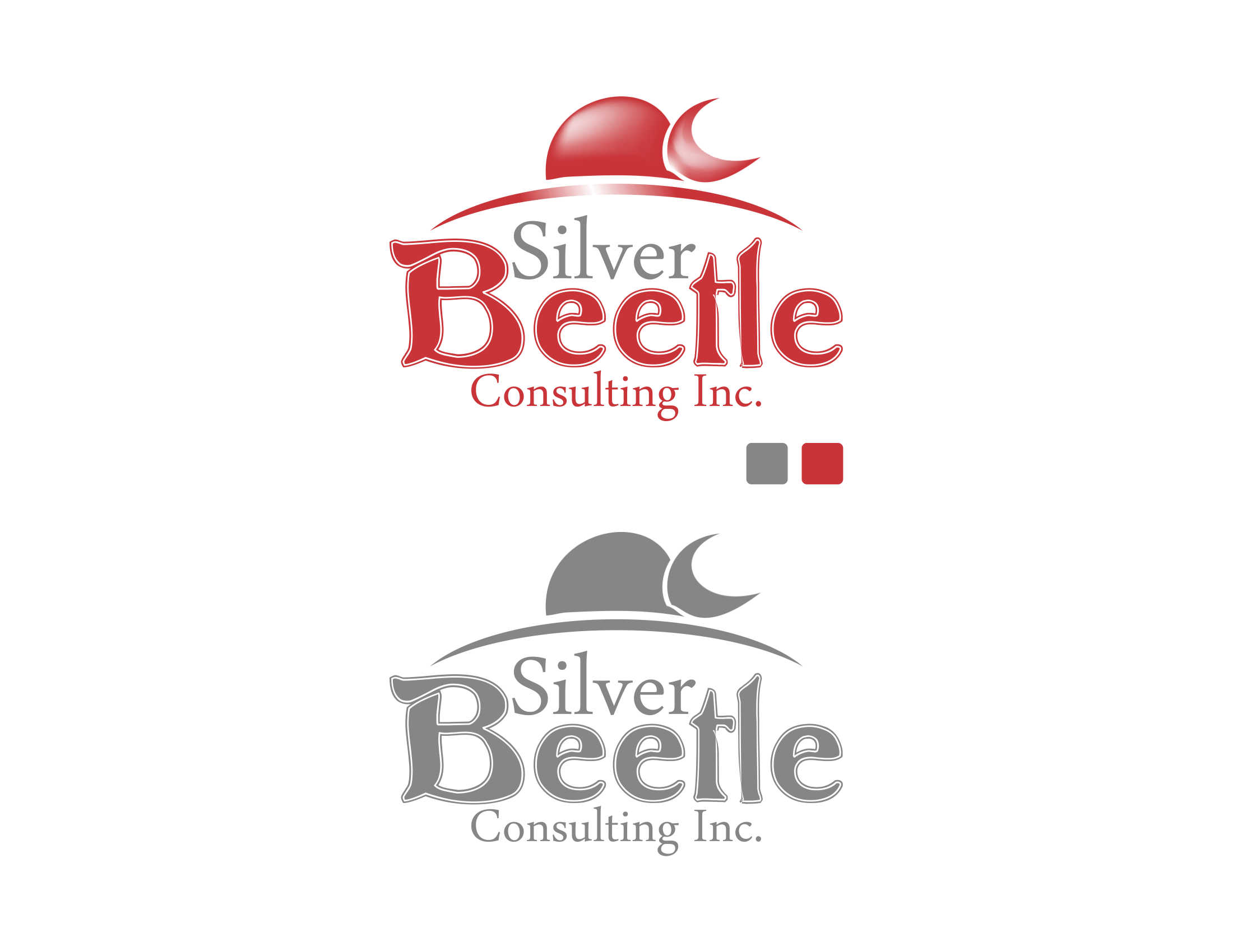 Logo Design by Private User - Entry No. 51 in the Logo Design Contest Silver Beetle Consulting Inc. Logo Design.