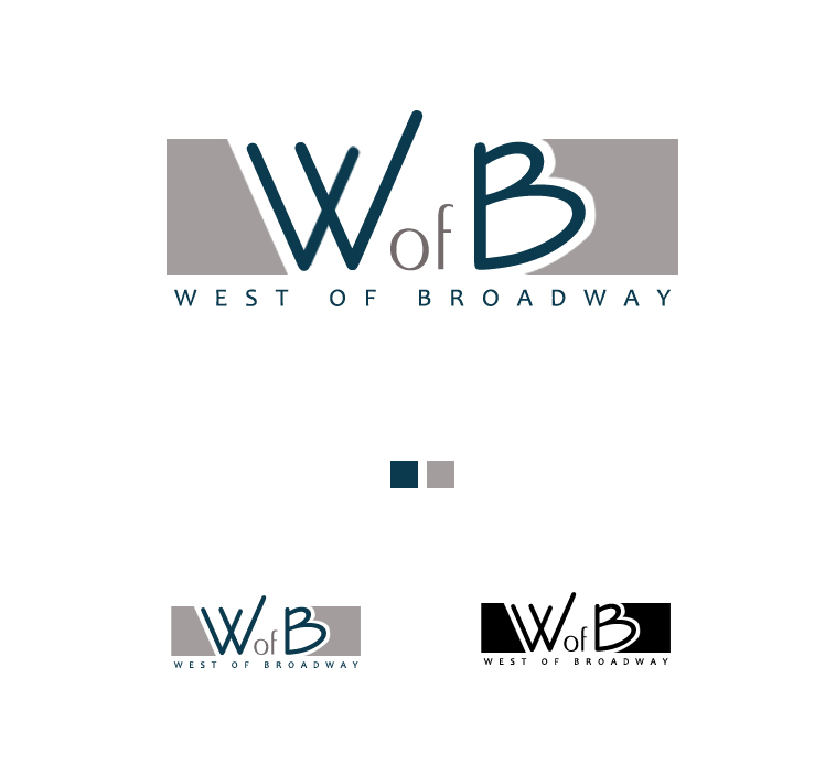 Logo Design by elmd - Entry No. 5 in the Logo Design Contest Unique Logo Design Wanted for West of Broadway.